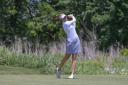 May 6, 2018 - The Colony, TX, U.S. - THE COLONY, TX - MAY 06: Kim Kaufman (USA) hits from the 4th tee during the Volunteers of America LPGA Texas Classic on May 6, 2018 at the Old American Golf Club in The Colony, TX. (Photo by George Walker/Icon Sportswire) (Credit Image: © George Walker/Icon SMI via ZUMA Press)