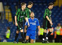 Photo: Daniel Hambury.<br />Chelsea v Glasgow Celtic. Pre Season Friendly. 09/08/2006.<br />Chelsea's Frank Lampard looks skywards after missing a chance.