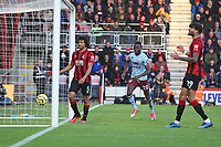 Football - 2019 / 2020 Premier League - AFC Bournemouth vs. Aston Villa<br /> <br /> Mbwana Samatta of Aston Villa runs to collect the ball after pulling a goal back for Villa at the Vitality Stadium (Dean Court) Bournemouth <br /> <br /> COLORSPORT/SHAUN BOGGUST