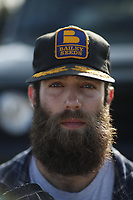Tigers Daniel Norris poses for a portrait.<br /> <br /> Photo by Tom DiPace