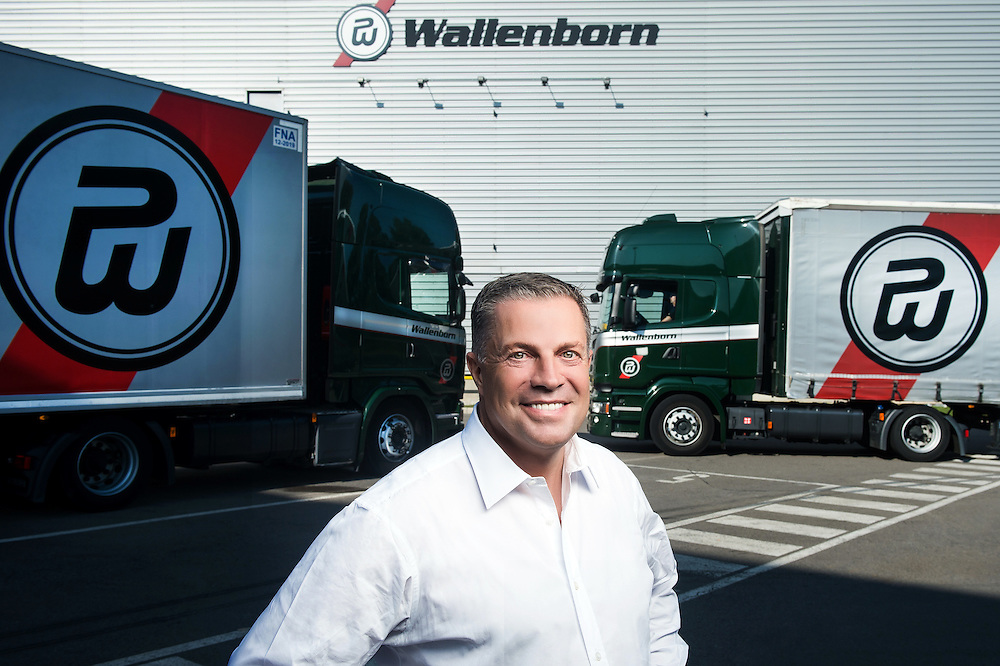 Luxembourg, 14 September 2016<br /> Frantz Wallenborn, CEO Wallenborn Transports S.A.<br /> Established in 1920 and still privately held today, Wallenborn is a leading provider of transportation services and Europe's largest air-cargo road feeder services (RFS) operator.<br /> Photo: Ezequiel Scagnetti