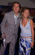 Jonathan Ross and Joss Stone, Glamour Magazine's Women of the Year Awards, Berkeley Sq. 8 June 2004. ONE TIME USE ONLY - DO NOT ARCHIVE  © Copyright Photograph by Dafydd Jones 66 Stockwell Park Rd. London SW9 0DA Tel 020 7733 0108 www.dafjones.com