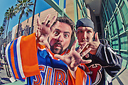 Kevin Smith & Jason Mewes <br /> Photographed at Universal Studios in Los Angeles, CA