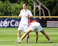 Photo: Chris Ratcliffe.<br />England Training Session. FIFA World Cup 2006. 29/06/2006.<br />Wayne Rooney in training.