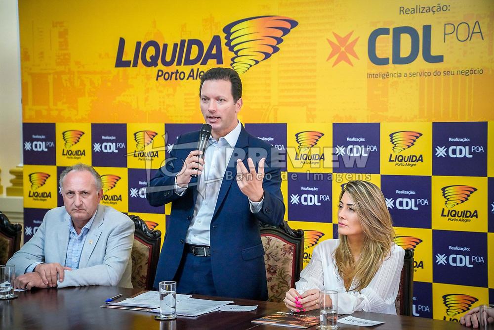 Porto Alegre, RS - 13/02/2020: Ato de Lançamento da 24ª Edição do Liquida Porto Alegre. Foto: Jefferson Bernardes/PMPA