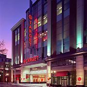Target retail shopping center in Stamford, CT