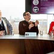 NLD/Amsterdam/20171212 - Perspresentatie All Mixed up the Challenge, Gordon Heuckeroth, Jorgen Raymann en Tineke Schouten