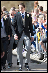 August 31, 2019, York, United Kingdom: Image licensed to i-Images Picture Agency. 31/08/2019. York, United Kingdom. Caspar Jopling  arriving  for his wedding to  Ellie Goulding at York Minster, United Kingdom. (Credit Image: © Stephen Lock/i-Images via ZUMA Press)