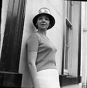 British Knitwear Fashion Show at the Hibernian Hotel..18.04.1961