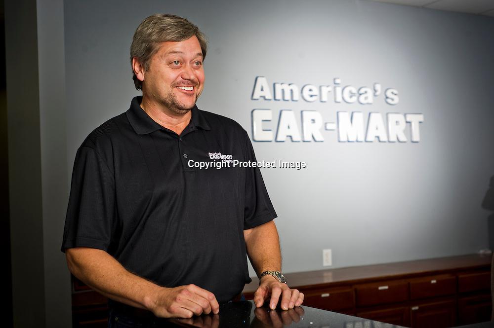 Hank Henderson of Car-Mart in Bentonville, Arkansas.