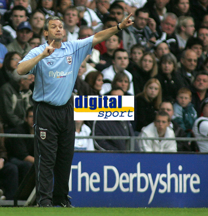 Photo: Paul Thomas.<br /> Derby County v Southampton. Coca Cola Championship. Play Off Semi Final, 2nd Leg. 15/05/2007.<br /> <br /> George Burley, Southampton manager.