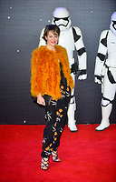 Helen McCrory  at the STAR WARS: THE FORCE AWAKENS, European Premiere in Leicester Square, London on the 16th December