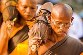 Monks Participate in Mass Pilgrimage in Bangkok