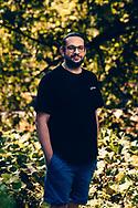 Khaled Almaani kam als Flüchtling nach Hamburg – und beobachtet einen Stimmungswandel in der Gesellschaft. Hamburg Deutschland. 13.08.2020 Foto Mauricio Bustamante