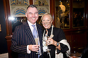 PAUL AITCHESON; INGRID SOCHALL, Preview party for the Versace Sale.  The contents of fashion designer Gianni Versace's villa on Lake Como. Sothebys. Old Bond St. London. 16 March 2009.  *** Local Caption *** -DO NOT ARCHIVE -Copyright Photograph by Dafydd Jones. 248 Clapham Rd. London SW9 0PZ. Tel 0207 820 0771. www.dafjones.com<br /> PAUL AITCHESON; INGRID SOCHALL, Preview party for the Versace Sale.  The contents of fashion designer Gianni Versace's villa on Lake Como. Sothebys. Old Bond St. London. 16 March 2009.