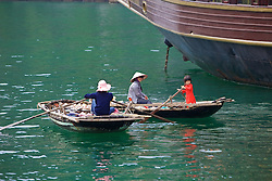People On Small Boats
