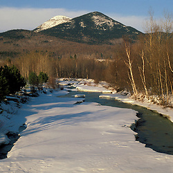 Nash Stream is a tributary to the Upper Ammonoosuc.  Percy Peaks. Northern Forest. February. Cohos Trail.  Nash Stream State Forest, Stark, NH