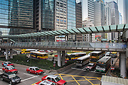 Hong Kong is one of the most populated cities on the planet. But, its public transportation is well develoved and along with taxis getting around is easy