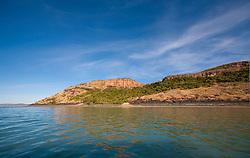 The shoreline near Naturalist Island