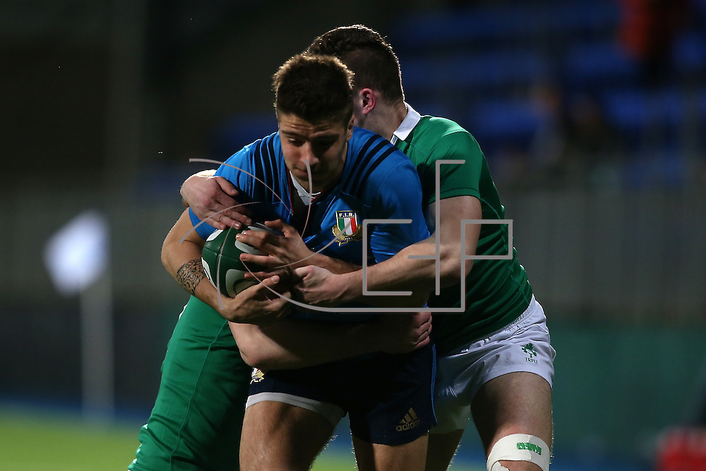 Dublino 12/03/2016 Donnybrook<br /> RBS 6 nations under 20 : Irlanda vs Italia