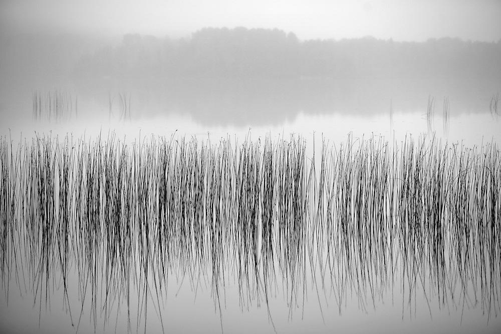 Early morning fog on Lake Superior