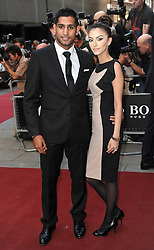 File photo dated 3/9/2013 of Amir Khan with his wife Faryal Makhdoom as the boxer has denied his marriage is in trouble after a private video was leaked online reportedly showing the former world champion boxer performing a sex act.