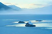 Misty Winter Portrait, Lake Wenatchee, Washington State