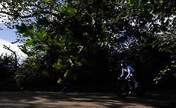 Jade Wiel of FDJ Nouvelle-Aquitaine Futuroscope during the Stage Three Individual Time Trial of the AJ Bell Women's Tour in Atherstone, UK. Picture date: Wednesday October 6, 2021.