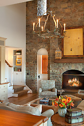 fireplace. 6594 McRaes Road, Warrenton VA Home Living Room