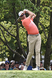 August 12, 2018 - Town And Country, Missouri, U.S - STEWART CINK from Duluth Georgia, USA tees off on hole two during round four of the 100th PGA Championship on Sunday, August 12, 2018, held at Bellerive Country Club in Town and Country, MO (Photo credit Richard Ulreich / ZUMA Press) (Credit Image: © Richard Ulreich via ZUMA Wire)