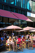 Diners at The Brenner Grill restaurant in Maximilianstrasse in Munich, Bavaria, Germany