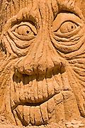 Old tree, Sand sculpture festival on the Haifa beach, July 2006