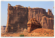 Bizarre Strange and beautiful are the Rock Forms at Arches National Park, Utah, USA