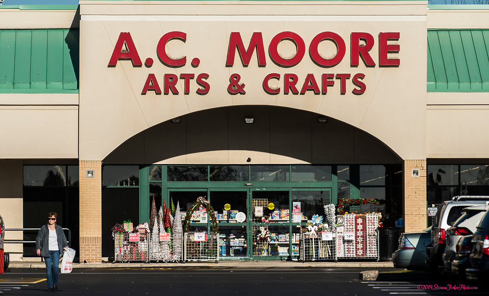 A.C. Moore Arts & Crafts in MacArthur Commons will be closing along MacArthur Road in Whitehall Twp., Lehigh County, Pa.. Picture made November 26, 2019. Donna Fisher Photography, LLC