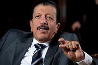2010, BERLIN/GERMANY:<br /> Yousef Hussein Kamal, Wirtschafts- und Finanzminister Katar, waehrend einem Interview, Hotel Ritz-Charlton<br /> IMAGE: 20101216-01-026<br /> KEYWORDS: Yousef Hussain Kamal, Qatar