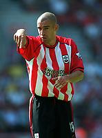 Danny Higginbotham (Southampton) Southampton v Parma, Pre-Season Friendly, 9/08/2003. Credit: Colorsport / Matthew Impey