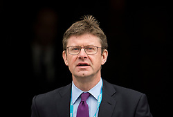 © Licensed to London News Pictures. 04/10/2017. Manchester, UK. Secretary of State for Business, Energy and Industrial Strategy GREG CLARK MP seen on the final day of the Conservative Party Conference. The four day event is expected to focus heavily on Brexit, with the British prime minister hoping to dampen rumours of a leadership challenge. Photo credit: Ben Cawthra/LNP