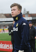 Football - 2016 / 2017 FA Cup - Fourth Round: Sutton United vs. Leeds United<br /> <br /> Leeds goalkeeper, Bailey Peacock - Farrell at Gander Green Lane.<br /> <br /> COLORSPORT/ANDREW COWIE