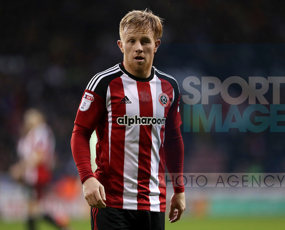 Mark Duffy of Sheffield United during the English Football League One match at Bramall Lane, Sheffield. Picture date: December 10th, 2016. Pic Jamie Tyerman/Sportimage