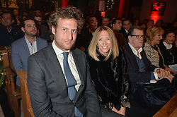LONDON, ENGLAND 29 NOVEMBER 2016: Freddie Hesketh, Flora Goodwin at the Fayre of St James's hosted by Quintessentially Foundation and the Crown Estate in aid of Cheryl's Trust in support of The Prince's Trust held at St.James's Church, Piccadilly, London, England. 29 November 2016.