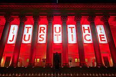 160426 Liverpool Hillsborough Light Tribute