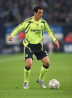 Photo: Maarten Straetemans/Sportsbeat Images.<br /> Shalke 04 v Chelsea. UEFA Champions League. 06/11/2007.<br /> Alex of Chelsea
