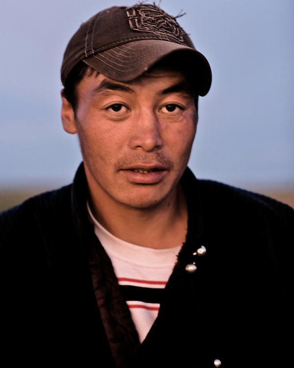 Portraits of Mongolian Farmer