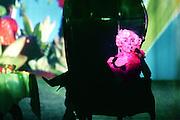 le jardin des delices.creation 2009 pour le festival montpellier danse.mise en scene et choregraphie: Blanca LI.Danseur:blanca li,glyslein lefever,margalida riera,geraldine fournier,yohann tete, rafa linares, jean-gerald dorseuil,stephane lavallée, amin benarsa.scenographie:pierre attrait.lumiere:jacque chatelet.video:charles carcopino.costume:laurent mercier.sculpture corporelle: tilman grawe..photo: Arnold Jerocki/artcomart