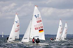 , Travemünde - Travemünder Woche 21. - 30.07.2017, 420er - GER 55330 - Lennart KUSS - Paul ARP - Warnemünder Segel-Club e. V态