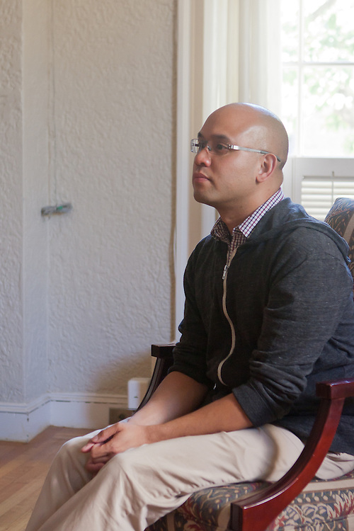 Macky Alston, the Director of Auburn Media, trained members of The Beatitudes Society Professional Network during a media training on July 14, 2010 in Berkeley, California. The Beatitudes Society trains Progressive religious leaders to become more effective community leaders.