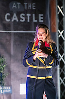 Lou Sanders  live at the picnic at the castle,Warwick Castle Exclusive photo by Brian Jordan