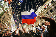Ambiance Russia fans at Nikolskaya Plaza during the 2018 FIFA World Cup Russia on June 13, 2018 in Moscow, Russia - Photo Thiago Bernardes / FramePhoto / ProSportsImages / DPPI
