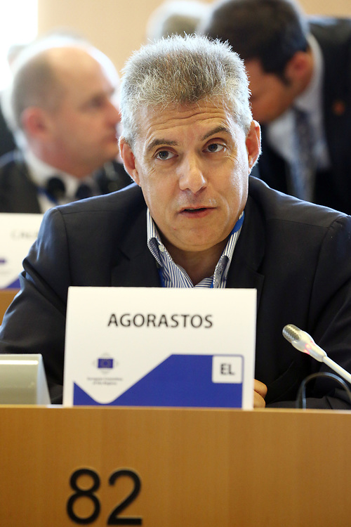 12 May 2017, 123rd Plenary Session of the European Committee of the Regions <br /> Belgium - Brussels - May 2017 <br /> <br /> Mr AGORASTOS Konstantinos, Head of the Region of Thessaly, Greece<br /> <br /> © European Union / Patrick Mascart