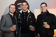 Peter Callan, Nova, Julian Charpentier, gHotel, and Shane d'Arcy Renmore at The Jameson The Black Barrel Craft Series  at Old printing works, Market Street with music by Corner boy.  Photo:Andrew Downes